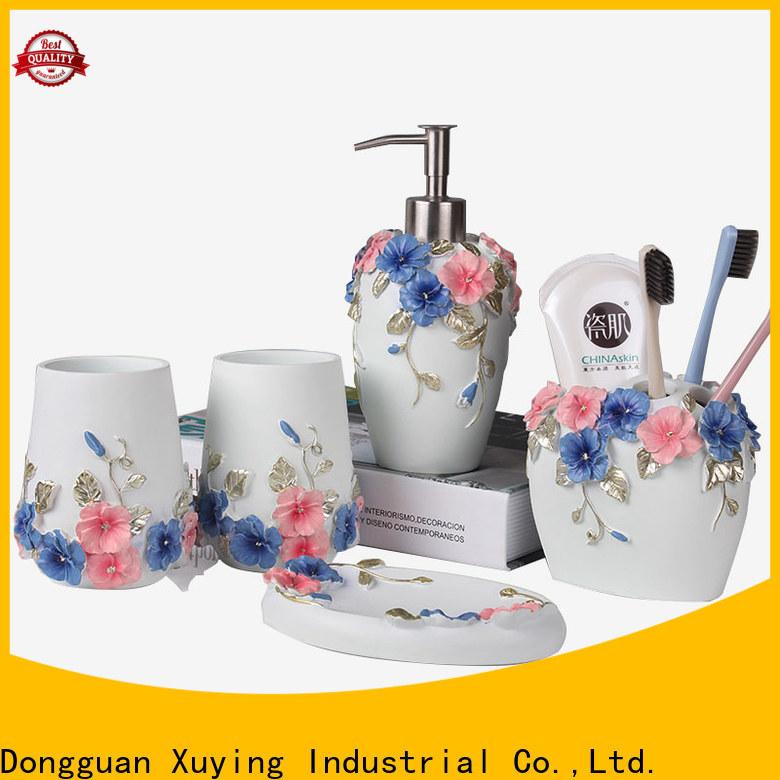 Xuying Bathroom Items elegant black bathroom sets wholesale for restroom