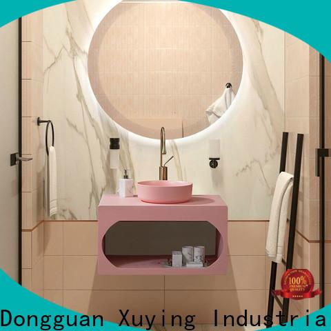 Xuying Bathroom Items fashion black bathroom accessories set customized for home