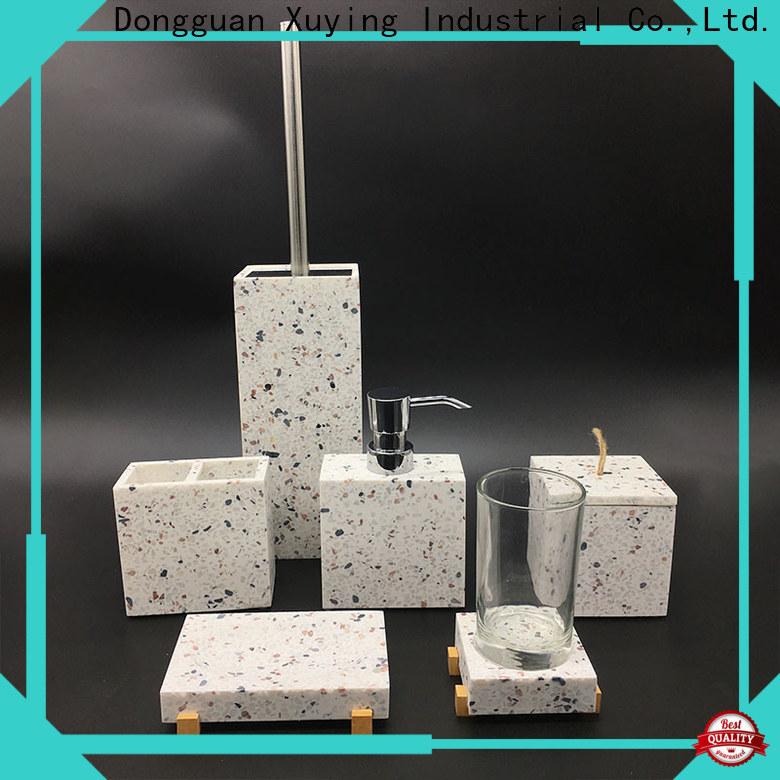 fashion grey bathroom accessories set manufacturer for hotel