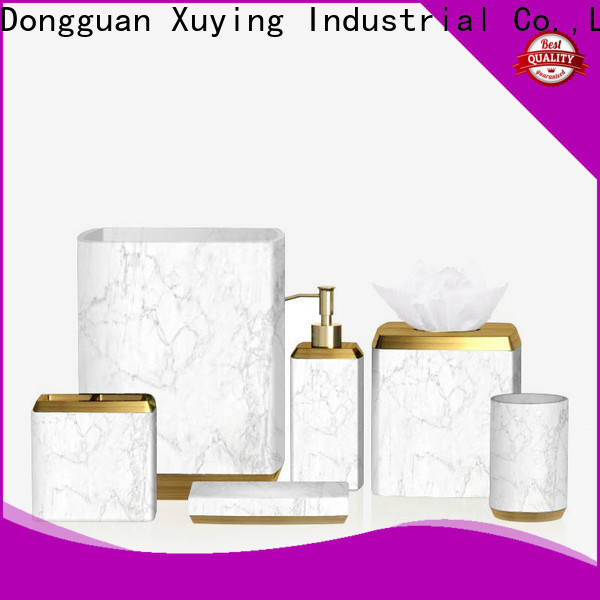 Xuying Bathroom Items durable white bathroom accessories set on sale for home