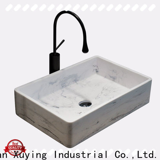 Xuying Bathroom Items counter top basins factory price for bathroom