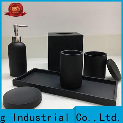 elegant black and gold bathroom manufacturer for restroom