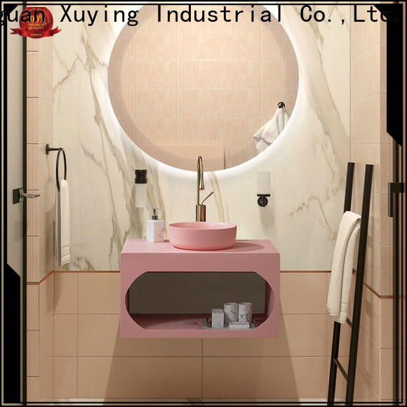 Xuying Bathroom Items durable blue bathroom accessories set manufacturer for home