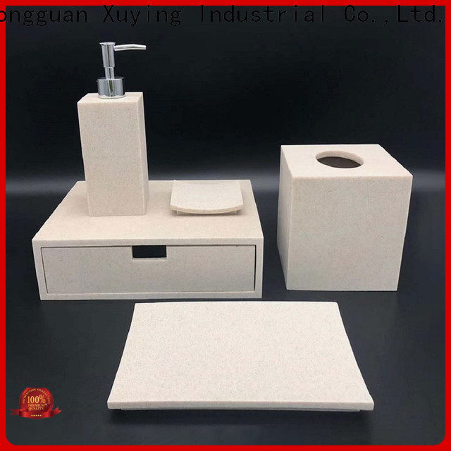 Xuying Bathroom Items luxury bath accessories design for hotel