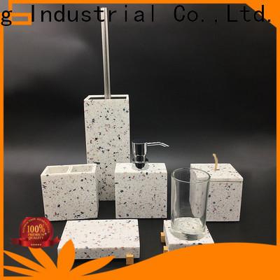 modern grey bathroom accessories set manufacturer for restroom