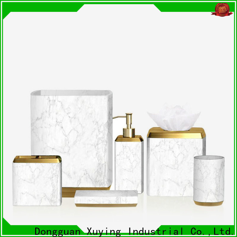 Xuying Bathroom Items modern grey bathroom accessories set manufacturer for home