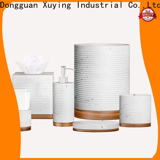Xuying Bathroom Items durable gray bathroom decor manufacturer for bathroom