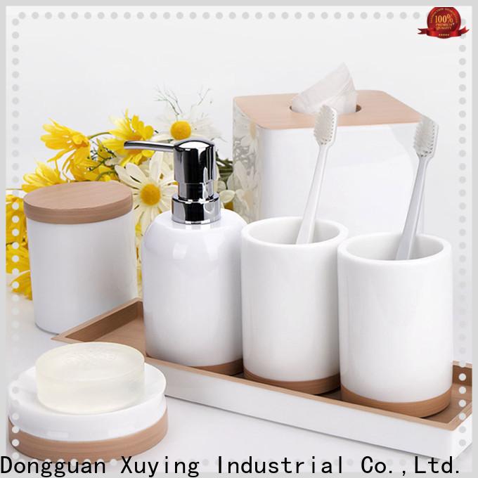 Xuying Bathroom Items modern white bathroom accessories set customized for bathroom