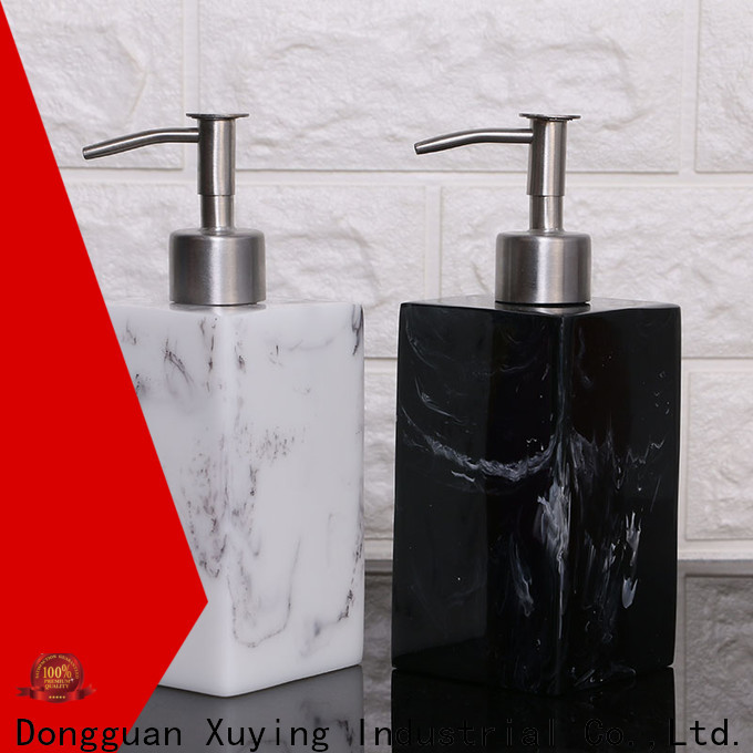 Xuying Bathroom Items soap dispenser set factory price for bathroom