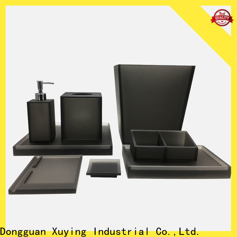 Xuying Bathroom Items black bathroom accessories wholesale for hotel