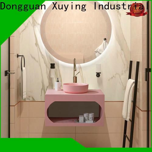 Xuying Bathroom Items fashion blue bathroom accessories set wholesale for restroom