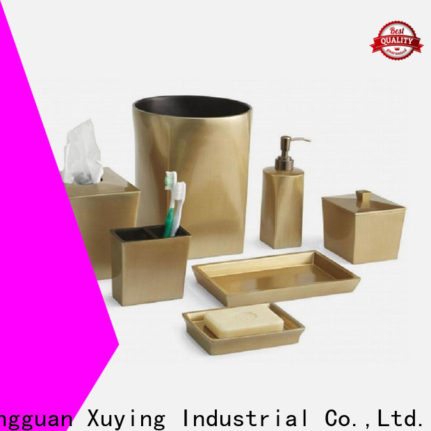 Xuying Bathroom Items silver bathroom accessories customized for hotel