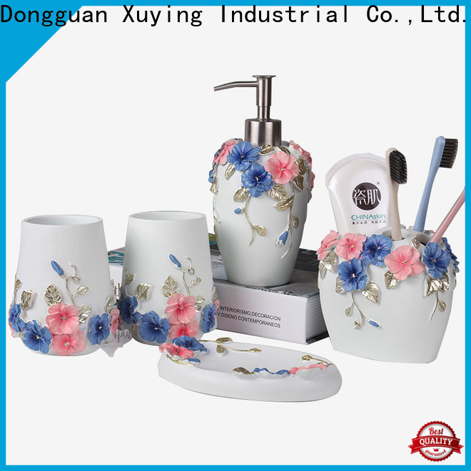 Xuying Bathroom Items modern white bathroom accessories set on sale for restroom