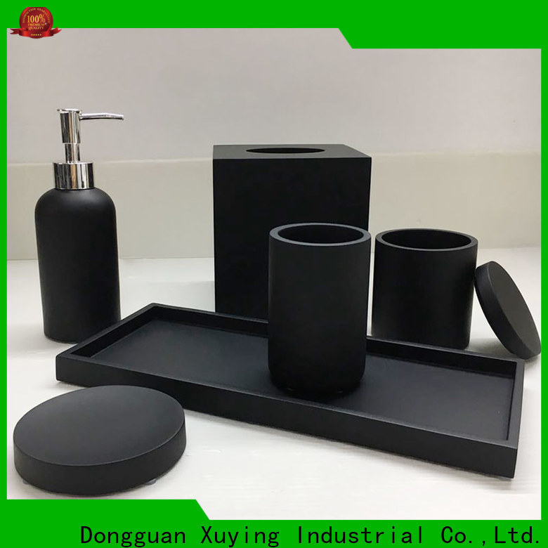 Xuying Bathroom Items elegant black and gold bathroom manufacturer for restroom