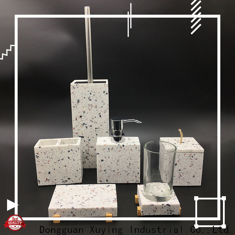 Xuying Bathroom Items white bathroom accessories set manufacturer for hotel