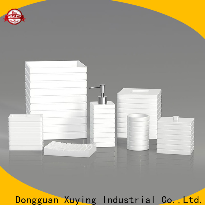 Xuying Bathroom Items white bathroom accessories set manufacturer for restroom