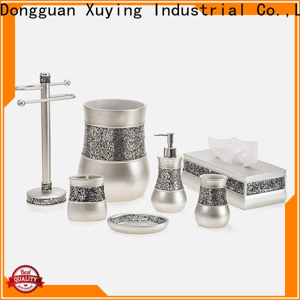 Xuying Bathroom Items rose gold bathroom set wholesale for hotel