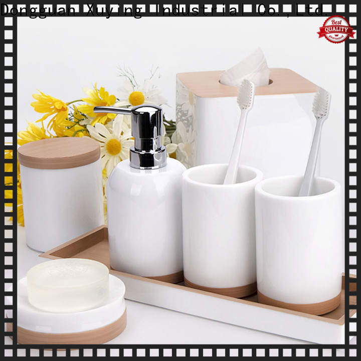 Xuying Bathroom Items elegant black and white bathroom decor on sale for hotel