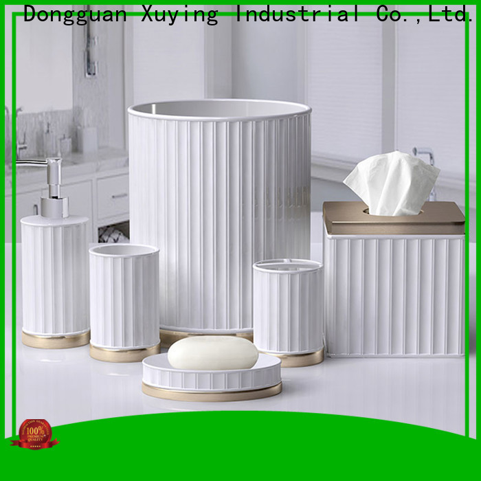 Xuying Bathroom Items hot selling ceramic soap dish factory for restroom