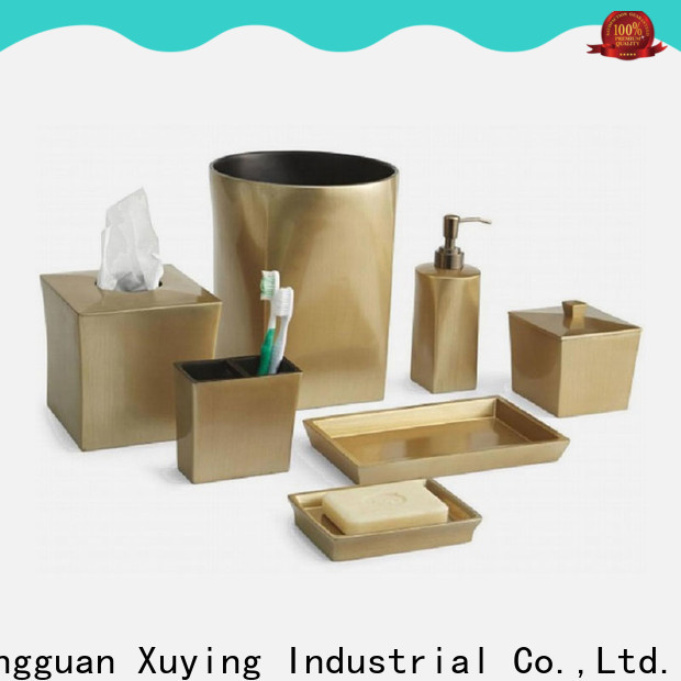 Xuying Bathroom Items gold bathroom accessories wholesale for hotel