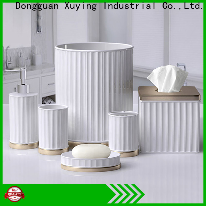 Xuying Bathroom Items hot selling ceramic bathroom set with good price for restroom