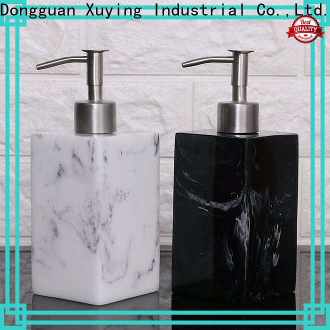 Xuying Bathroom Items fashion black and white bathroom decor supplier for hotel