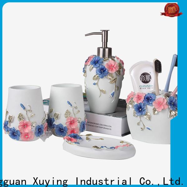 Xuying Bathroom Items gold bathroom accessories customized for bathroom