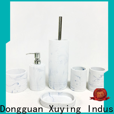 Xuying Bathroom Items modern gold bathroom accessories set wholesale for hotel