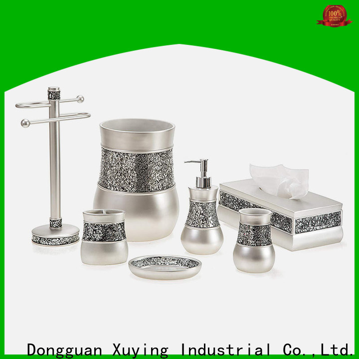 Xuying Bathroom Items gold bathroom accessories set manufacturer for home