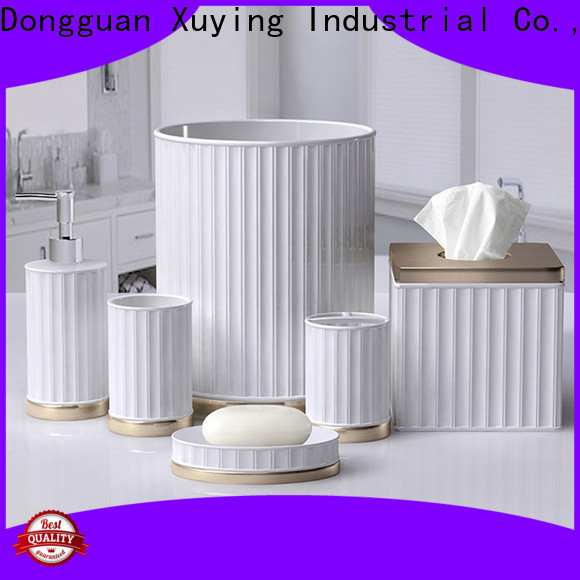 Xuying Bathroom Items practical white bathroom accessories design for restroom