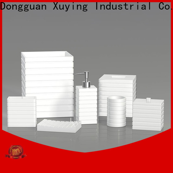 Xuying Bathroom Items fashion black and white bathroom accessories manufacturer for home