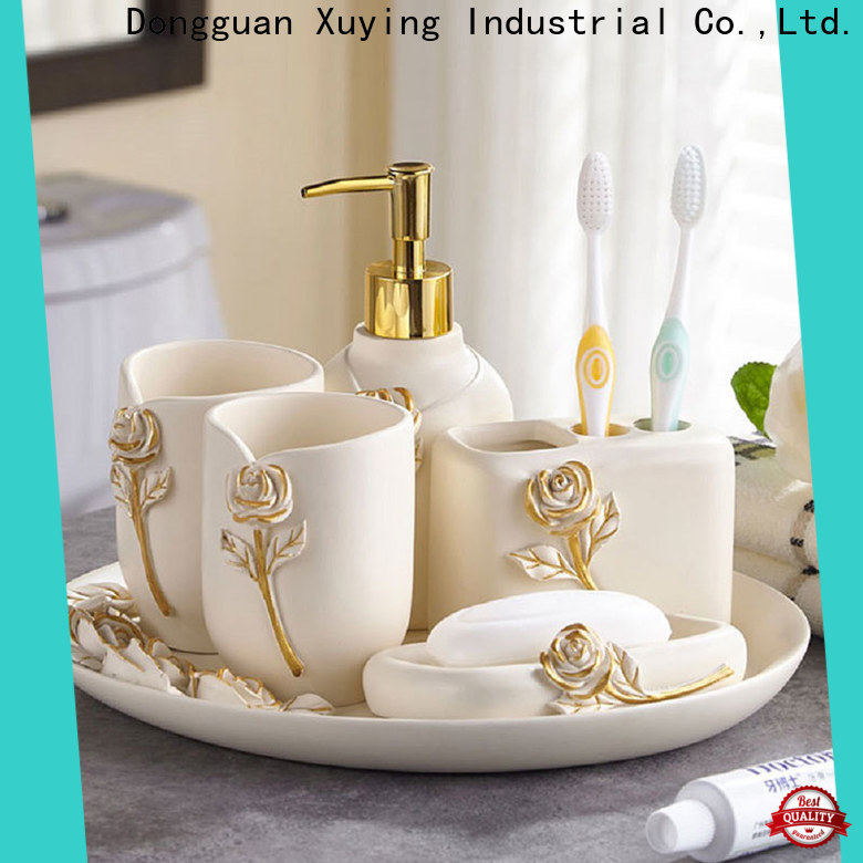 Xuying Bathroom Items elegant black and gold bathroom wholesale for bathroom