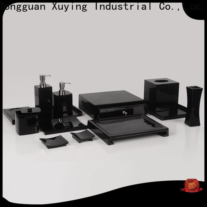 Xuying Bathroom Items matte black bathroom accessories with good price for bathroom