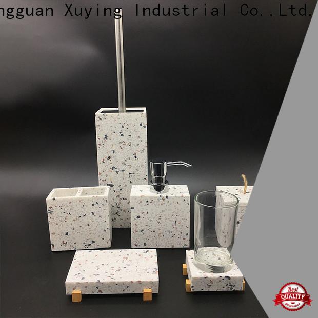 Xuying Bathroom Items fashion grey bathroom accessories set on sale for home