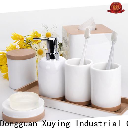 Xuying Bathroom Items grey bathroom accessories set on sale for restroom