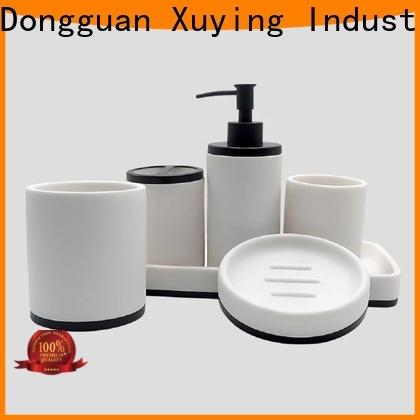 Xuying Bathroom Items durable black bathroom accessories supplier for bathroom