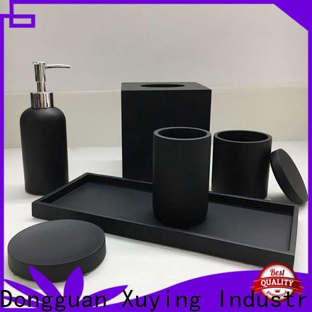 Xuying Bathroom Items elegant black and white bathroom decor customized for hotel
