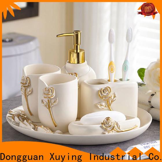 elegant gold bathroom accessories manufacturer for hotel