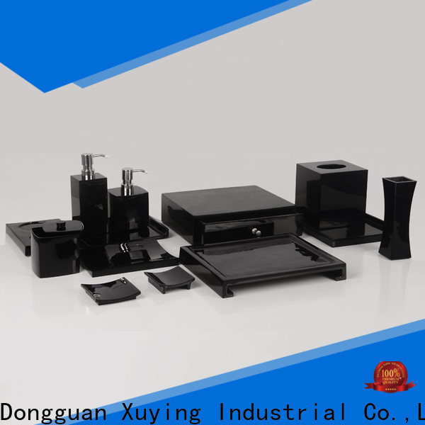 popular matte black bathroom accessories design for home