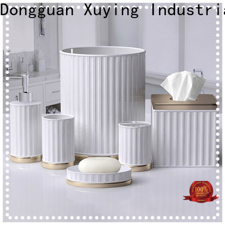 Xuying Bathroom Items ceramic bathroom set factory for hotel