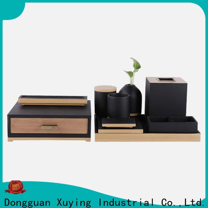 Xuying Bathroom Items luxury bath accessories design for hotel