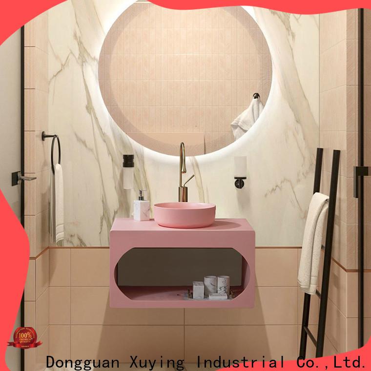 Xuying Bathroom Items fashion black bathroom sets customized for hotel