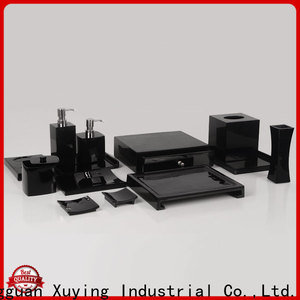Xuying Bathroom Items popular matte black bathroom accessories with good price for bathroom