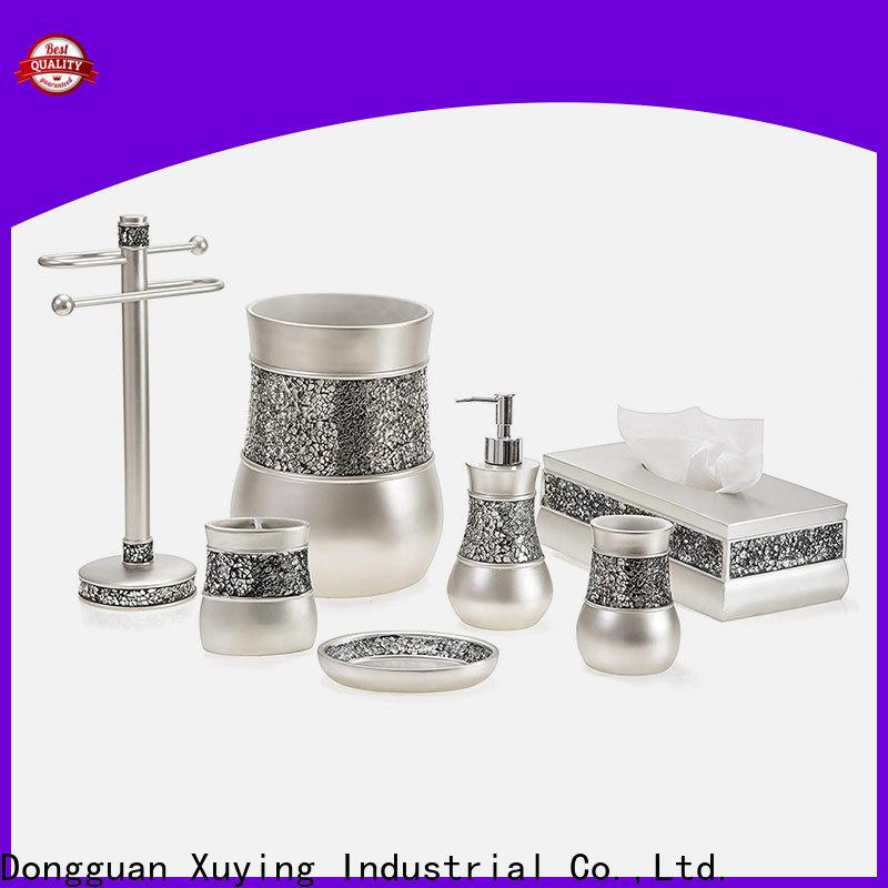 Xuying Bathroom Items modern rose gold bathroom set on sale for hotel