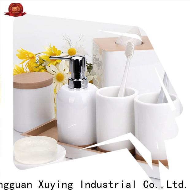 Xuying Bathroom Items modern black bathroom accessories set customized for restroom