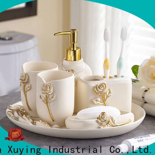 Xuying Bathroom Items black bathroom accessories set customized for restroom