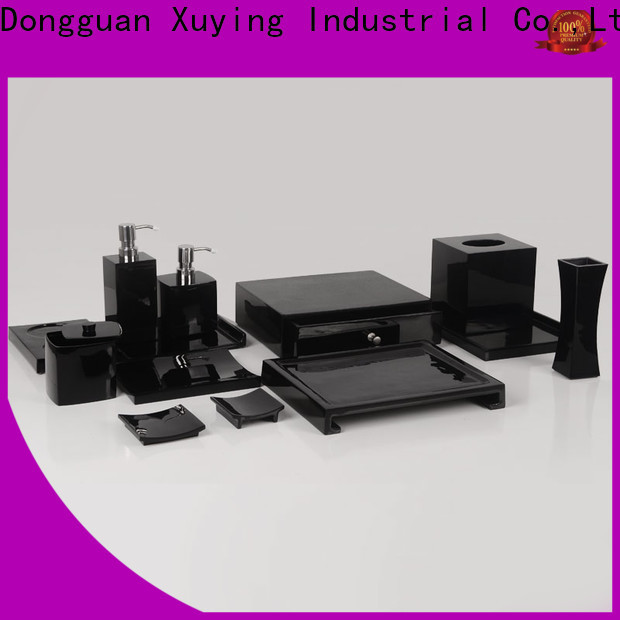 Xuying Bathroom Items matte black bathroom accessories factory for home