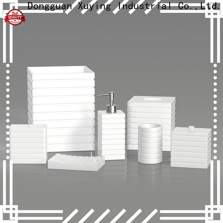Xuying Bathroom Items white bathroom accessories set wholesale for hotel