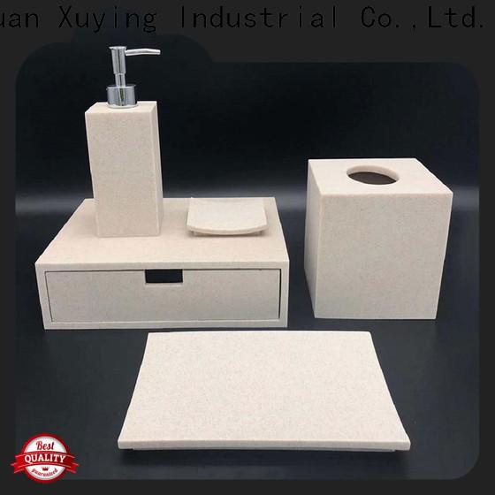 elegant matte black bathroom accessories design for restroom