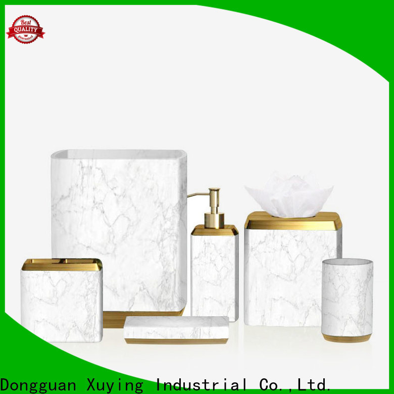 modern blue bathroom accessories set on sale for home